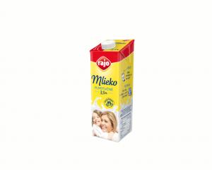 Mlieko Rajo plnotučné