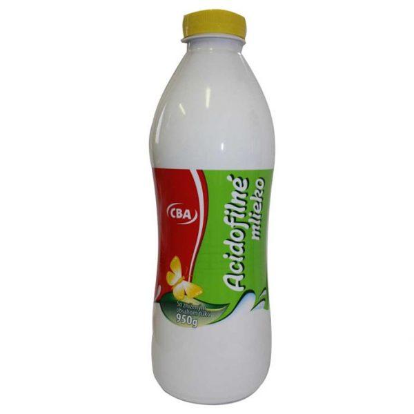 Acidofilné mlieko nízkotučné CBA 950g