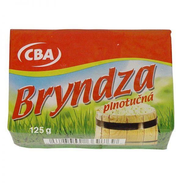 Bryndza plnotučná CBA 125g