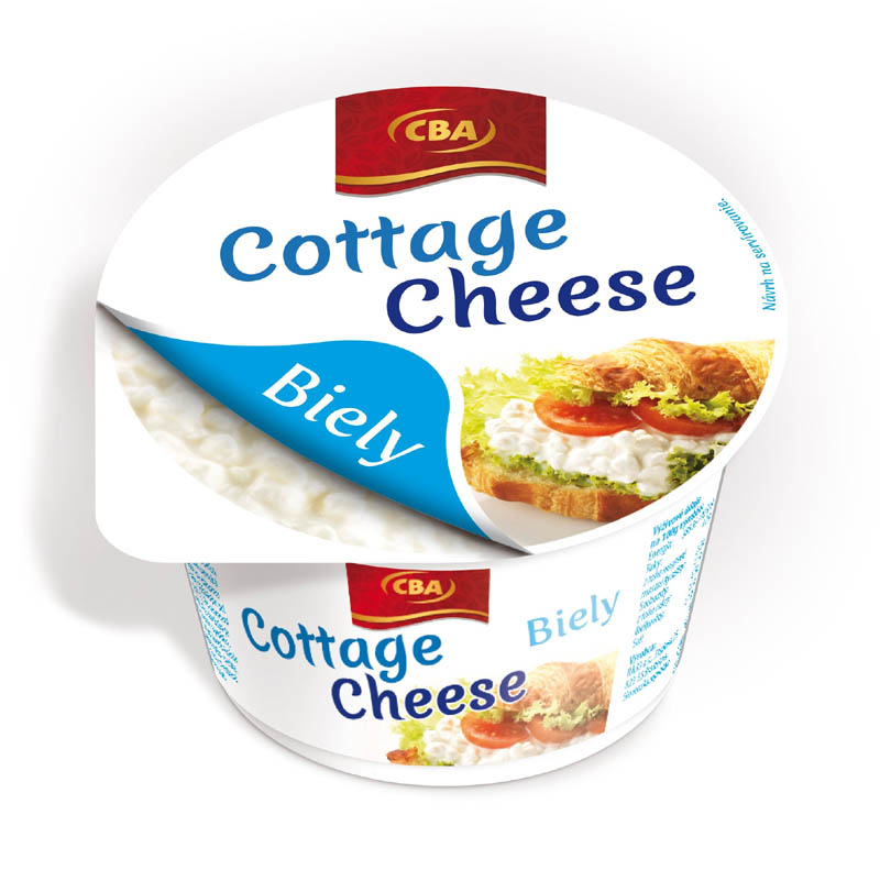 Cottage Cheese biely CBA 180g