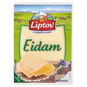 Eidam porciované plátky neúdené Liptov 100g