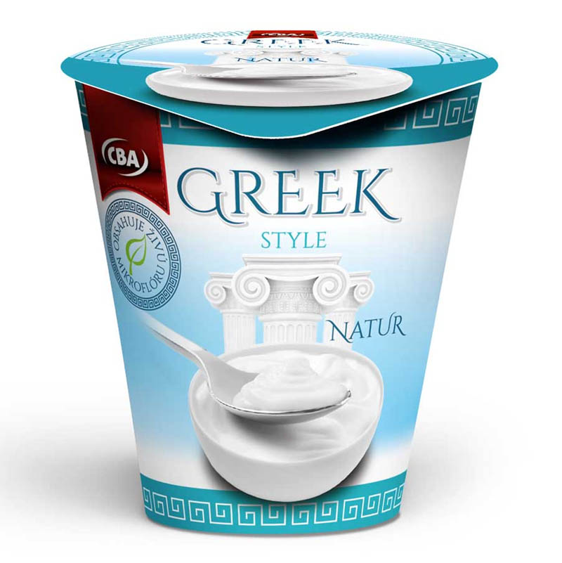 Jogurt Greek Style Natur CBA 150g