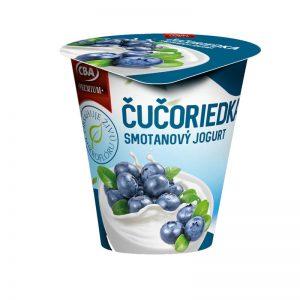 Jogurt Premium smotanový čučoriedkový CBA 145g