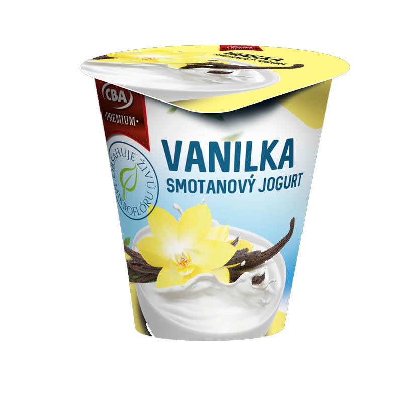 Jogurt Premium smotanový vanilkový CBA 145g