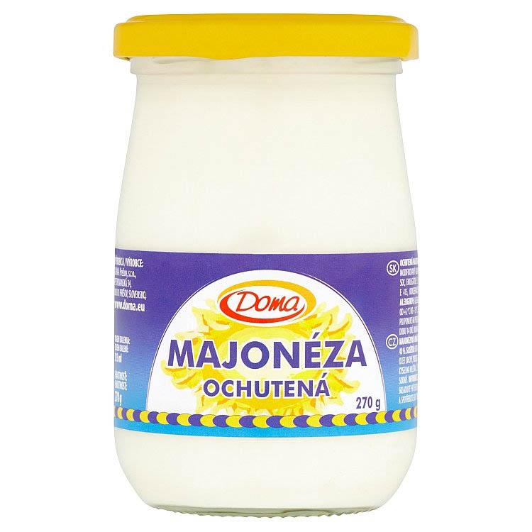 Ochutená majonéza Doma 270g