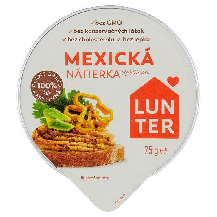 Mexická rastlinná nátierka Lunter 75g