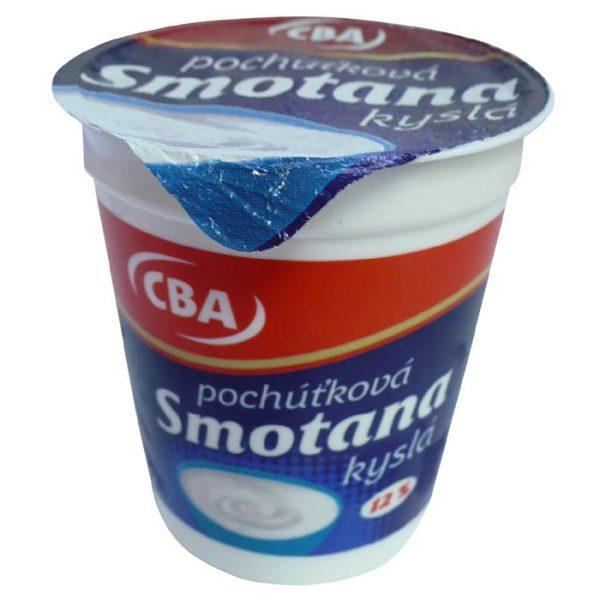 Smotana pochúťková kyslá CBA 12% 200g