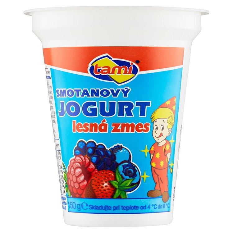 Jogurt smotanový lesná zmes Agro Tami 150g