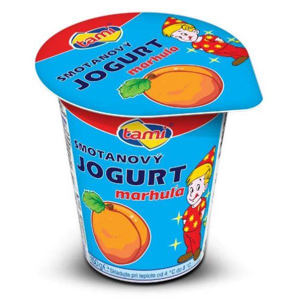 Jogurt smotanový marhuľový Agro Tami 150g