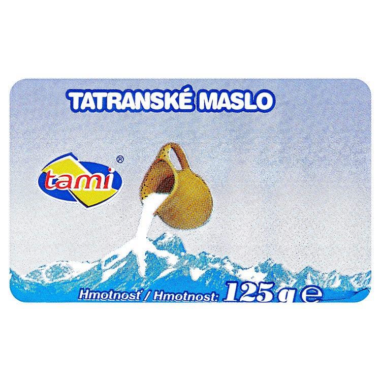 Tatranské maslo Tami 125g