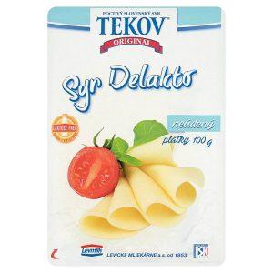 Tekovský syr Delakto neúdený porciovaný 100g
