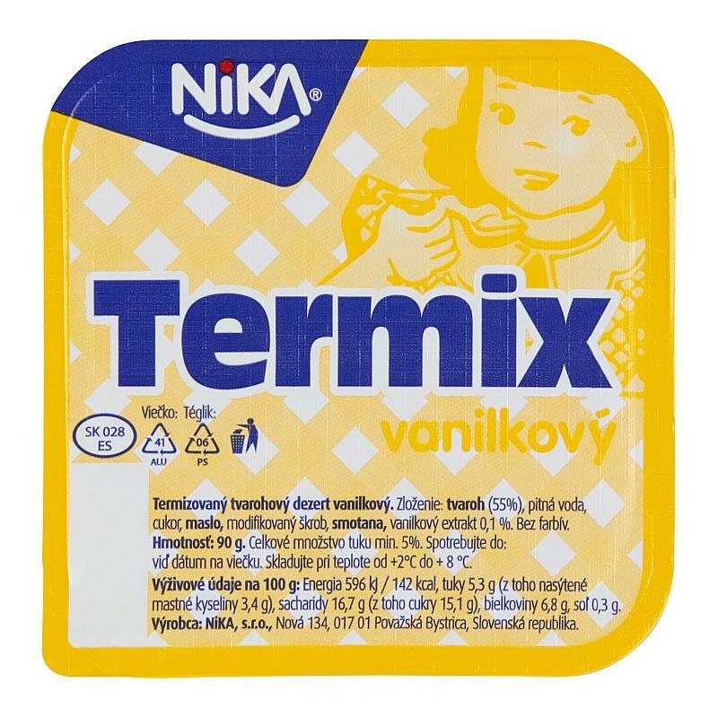 Termix vanilkový Nika 90g