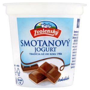 Zvolenský smotanový jogurt čokoládový 145g