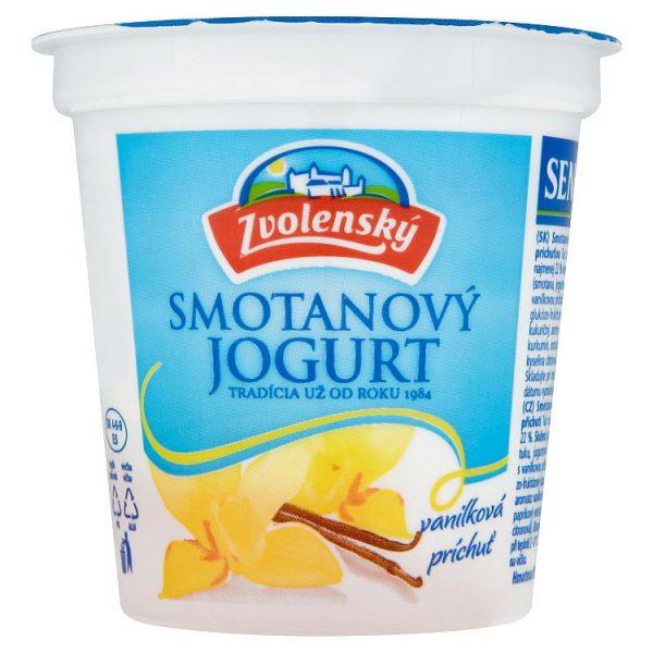 Zvolenský smotanový jogurt vanilkový 145g