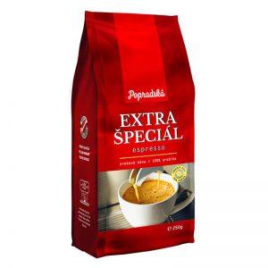 Popradská zrnková káva Extra Špeciál Espresso 250g