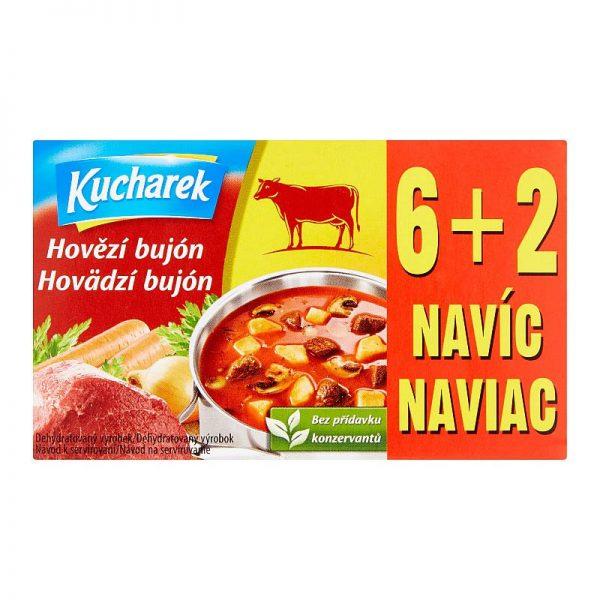 Hovädzí bujón Kucharek 8x10g