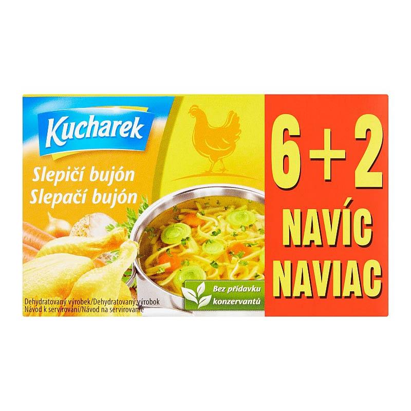 Slepačí bujón Kucharek 8x10g