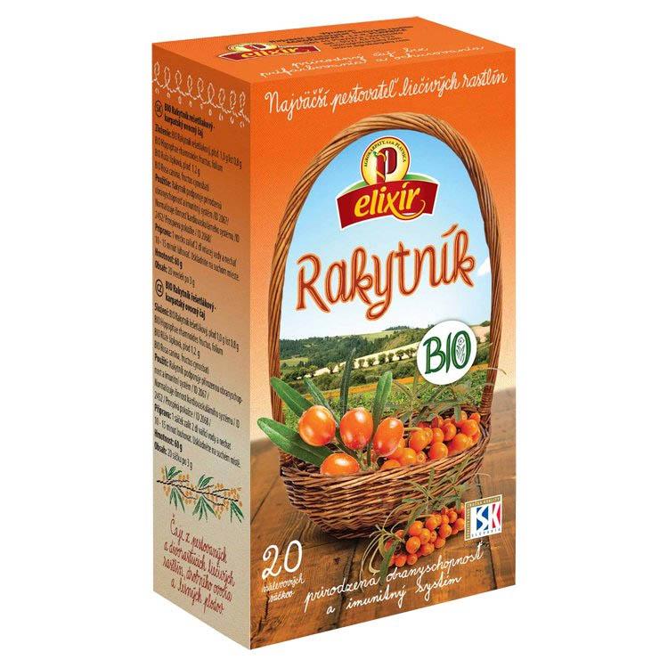 Rakytníkový čaj Bio Agrokarpaty 60g