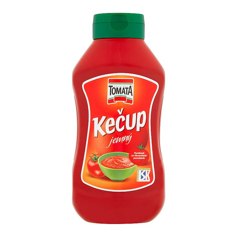 Kečup jemný Tomata 900g