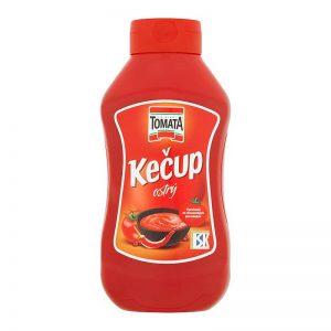 Kečup ostrý Tomata 900g donáška Zlaté Moravce