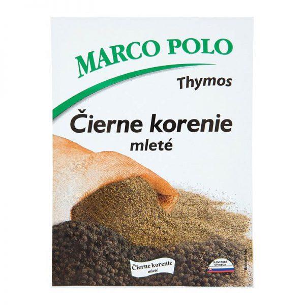 Čierne korenie mleté Marco Polo Thymos 20g