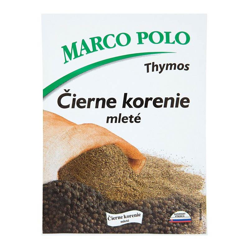 Čierne korenie mleté Marco Polo 20g
