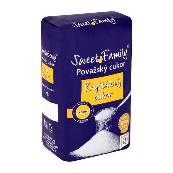 Kryštálový cukor Sweet Family 1kg