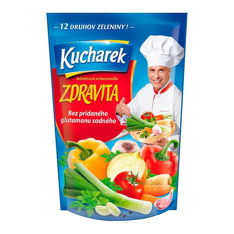 Zeleninové ochucovadlo Zdravita bez glutamanu Kucharek 200g