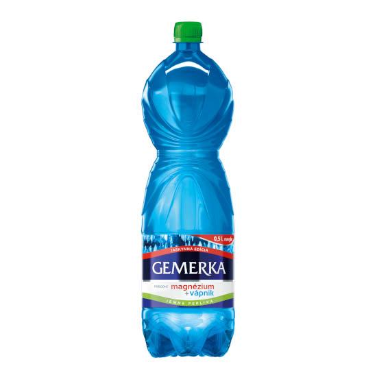 Gemerka magnézium a kalcium prírodná minerálna voda jemne perlivá 2l donáška ZM