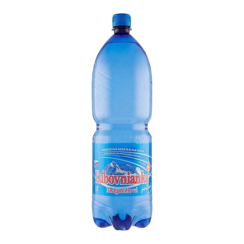 Ľubovnianka magnéziová prírodná minerálna voda perlivá 2l