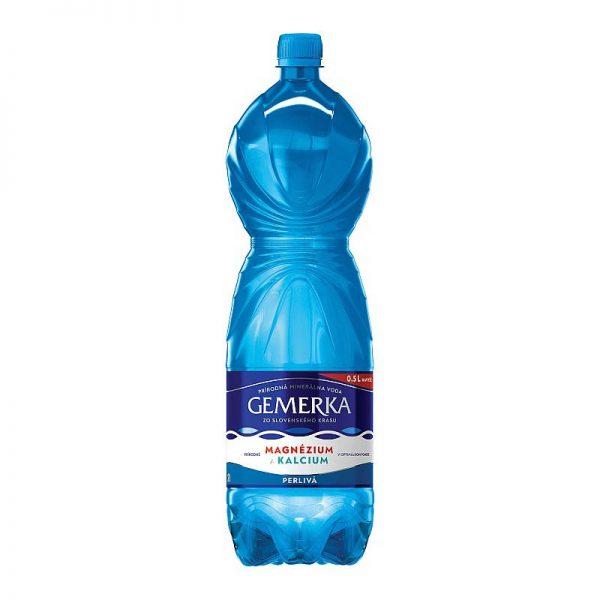 Gemerka magnézium a kalcium prírodná minerálna voda perlivá 2l