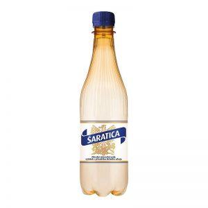 Šaratica prírodná minerálna voda 0,5l donáška Zlaté Moravce