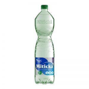 Mitická prírodná minerálna voda tichá 1,5l donáška Zlaté Moravce