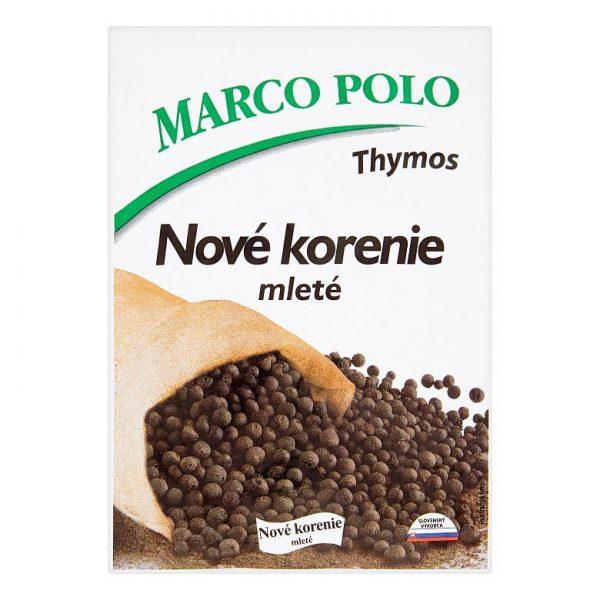 Nové korenie mleté Marco Polo 20g donáška Zlaté Moravce