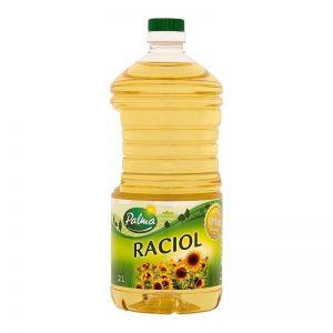 Olej Raciol slnečnicový Palma 2l donáška Zlaté Moravce