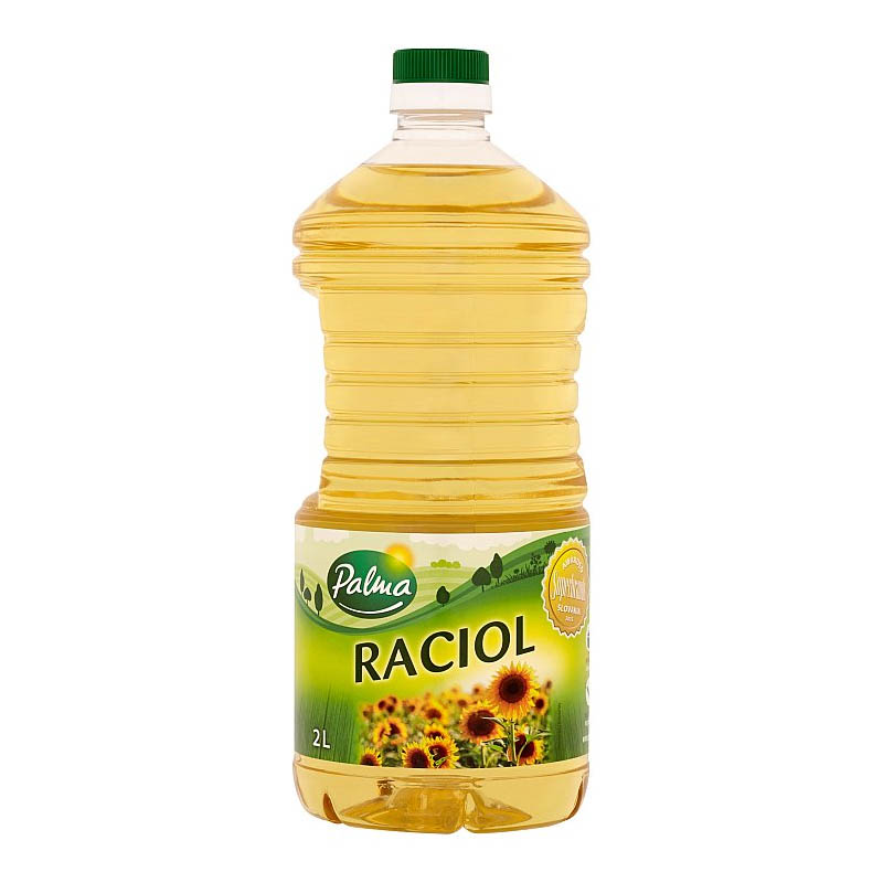 Olej Raciol slnečnicový Palma 2l