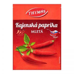 Kajenská paprika mletá štipľavá Thymos 25g