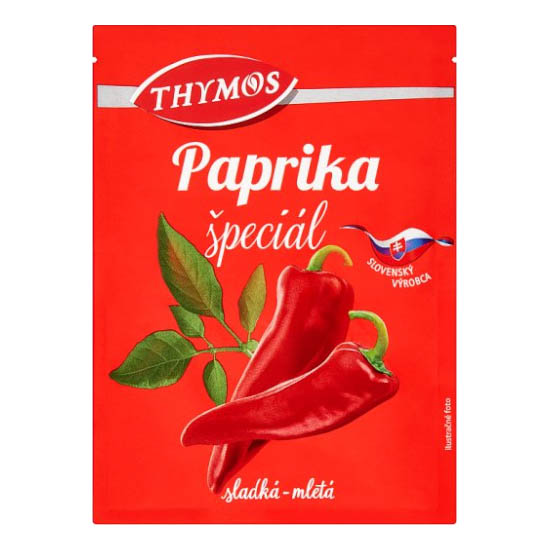 Paprika špeciál sladká mletá Thymos 30g