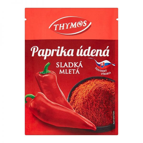 Paprika údená sladká mletá Thymos 25g