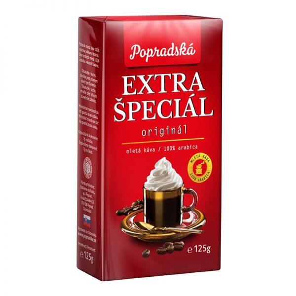 Popradská mletá káva Extra Špeciál 125g