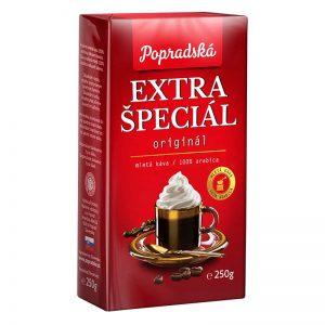 Popradská mletá káva Extra Špeciál 250g
