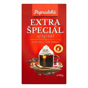 Popradská mletá káva Extra Špeciál 500g