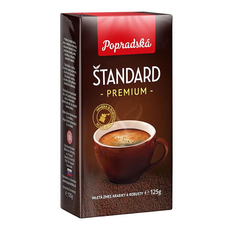 Popradská mletá káva Štandard Premium 125g
