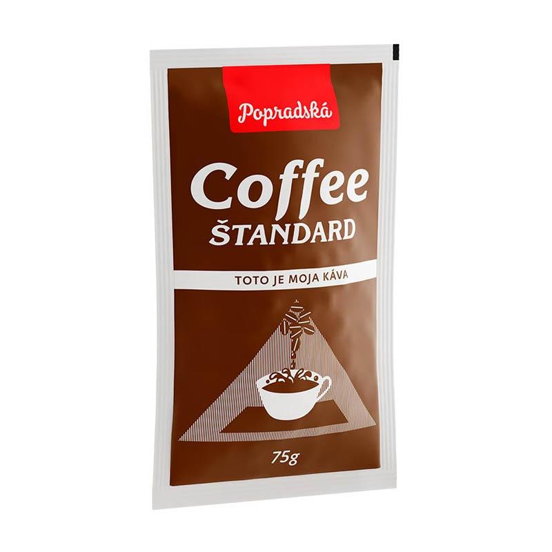 Popradská zrnková káva Coffee Štandard 75g