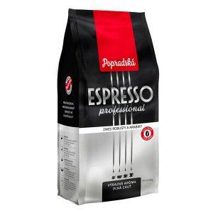 Popradská zrnková káva Espresso Professional 1kg