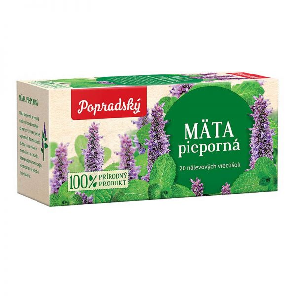 Popradský bylinný čaj Mäta pieporná 30g