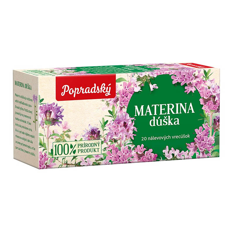 Popradský bylinný čaj Materina dúška 30g