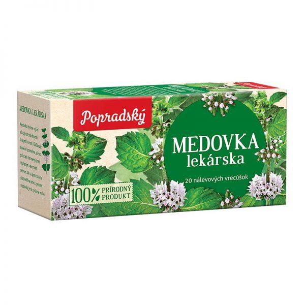 Popradský bylinný čaj Medovka lekárska 30g