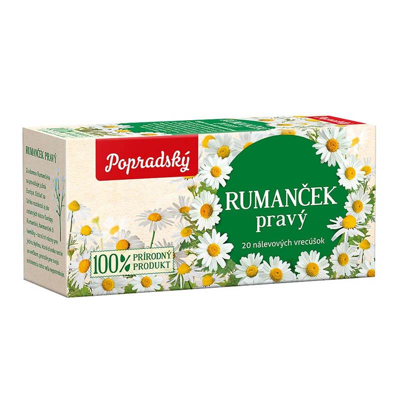 Popradský bylinný čaj Rumanček pravý 24g