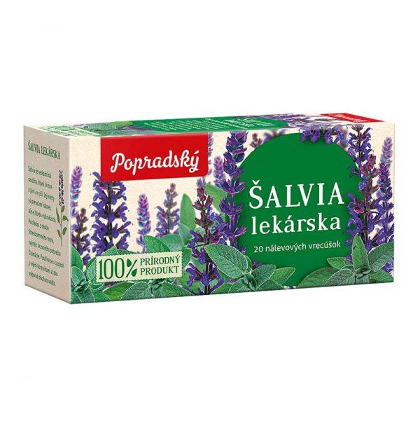 Popradský bylinný čaj Šalvia lekárska 30g
